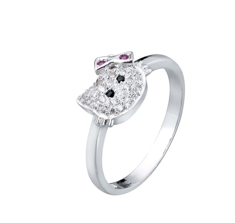 Nhẫn bạc nữ cao cấp 1