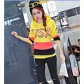 Áo thun hoodie phối màu usa Mã: AX2242 - VÀNG