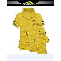 MaoMao -Combo 3 Áo Đồng Phục Gia Đình Adidas - Màu Vàng - ADI_09