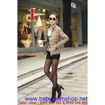 Áo khoác nữ dạng phao cao cấp rất nhẹ  AKNU272s