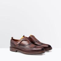 Giày Oxford ZARA leather ZG560