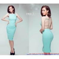 Đầm body hở lưng form chuẩn dáng đẹp xinh eDDNC34
