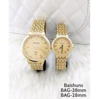 Đồng hồ đôi Baishuns 01 mạ vàng