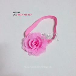 Băng đô thun mềm hoa xinh cho bé yêu