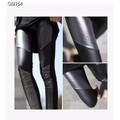 Quần legging da phối màu Mã: QB354