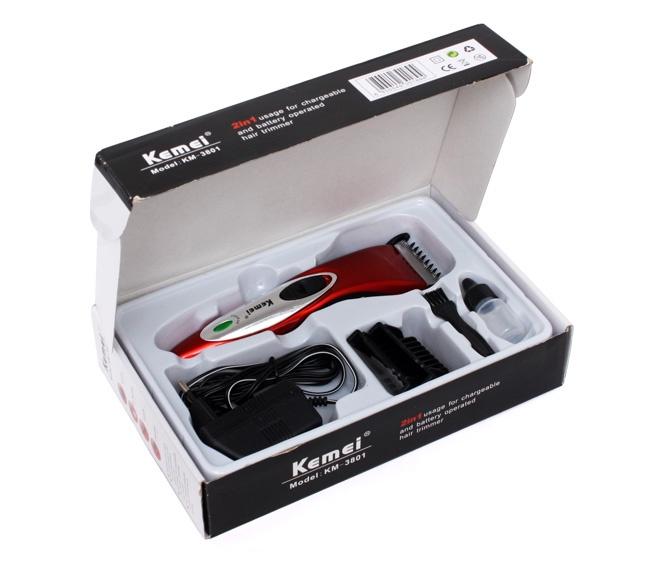kemei new cordless hair trimmer for men km 3801 best online shop shaver shop bangladesh. Black Bedroom Furniture Sets. Home Design Ideas