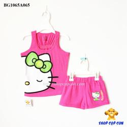 Bộ ba lổ kitty màu hồng size 2-8