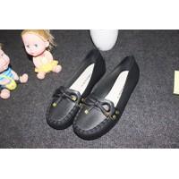 Giày búp bê nhựa nơ BB23