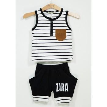 Bộ thun sọc Zara quần alibaba BT-447A