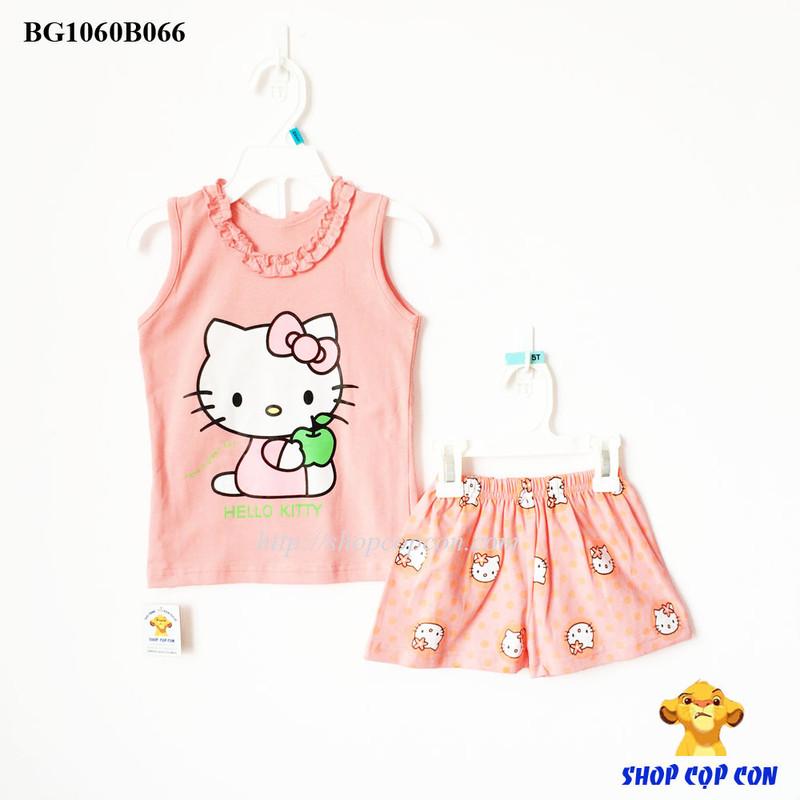 Bộ ba lổ kitty màu cam nhạt size 120-160 1