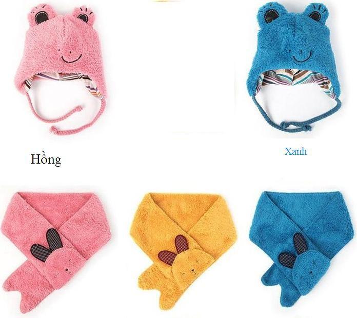 Bộ khăn nón Thỏ Bổng dành cho bé 03 tháng - 02 tuổi 3