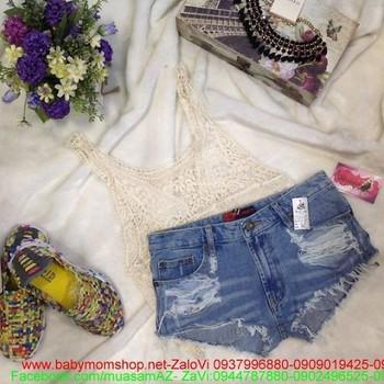 Quần short jean hàng thái cao cấp thời trang hè QS31