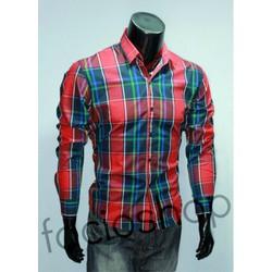 Chuyên sỉ và lẻ áo sơ mi nam Facioshop SD255