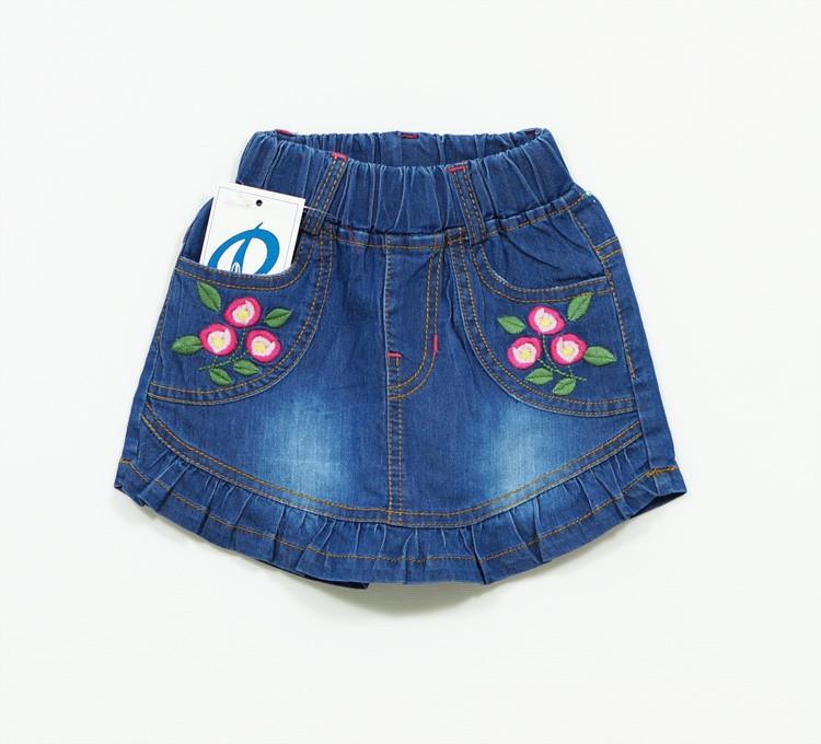 Quần váy jean bé gái VAY-027 1