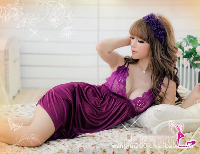 Váy ngủ dây chéo - VN006 2