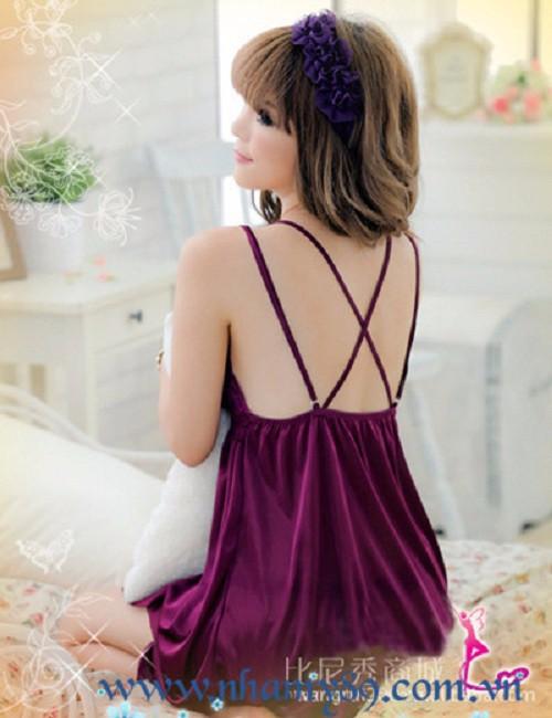 Váy ngủ dây chéo - VN006 5