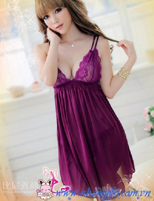 Váy ngủ dây chéo - VN006 3
