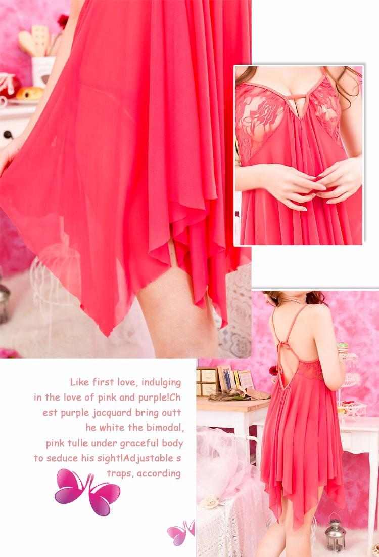 Váy ngủ đuôi tua - VN001 9