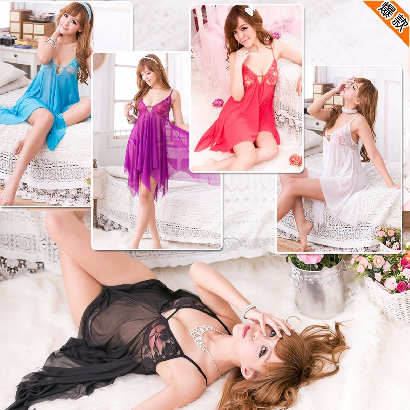 Váy ngủ đuôi tua - VN001 1
