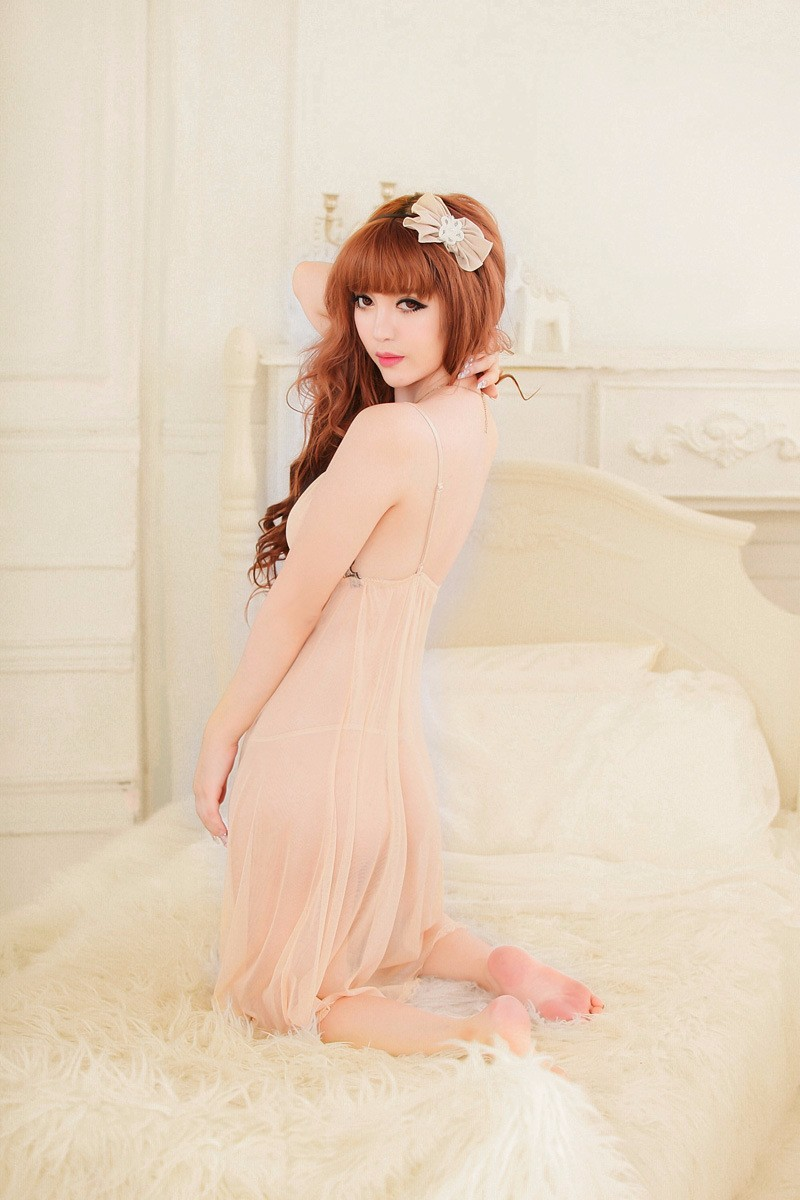Váy ngủ ren cổ - VN003 4