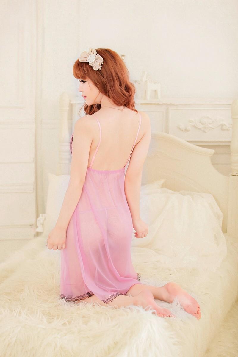 Váy ngủ ren cổ - VN003 10
