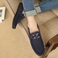 Giày nam mọi chữ Z