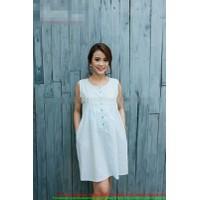 Đầm bầu korea xòe nhẹ cho bạn gái đi tiệc hàng mới về DB374