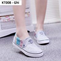 Giày lười KT008 Ghi