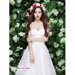 Đầm Ren Cúp Ngực Minh Hằng