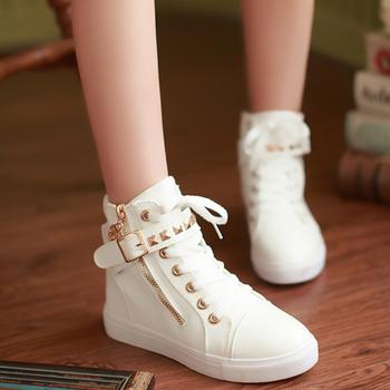 GiayDepXinh - B002 - Giày boot gắn đinh cá tính