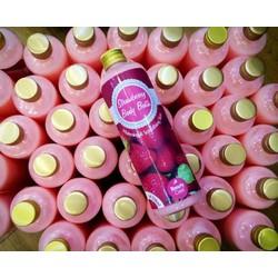 Strawberry Body Bath 2in1 Vừa là tắm trắng vừa là sữa tắm