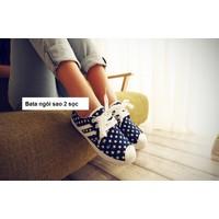 Giày bata ngôi sao 2 sọc