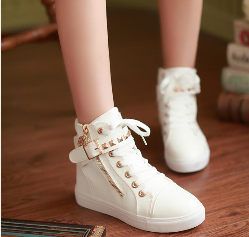GiayDepXinh - B002 - Giày boot gắn đinh cá tính 1