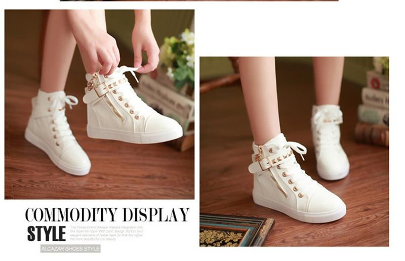 GiayDepXinh - B002 - Giày boot gắn đinh cá tính 3