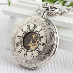 Đồng hồ quả quýt lên cót La Mã hai mặt
