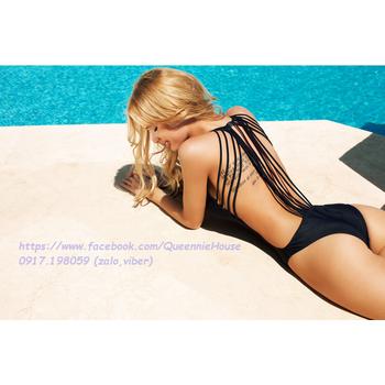 Bikini 1 mảnh dây đan lưng