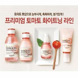 Bộ dưỡng trắng da Premium Tomato Whitening Skinfood
