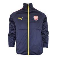 Áo khoác thể thao Arsenal xanh đen