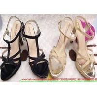 Giày cao gót thiết kế sang trọng quai hậu thời trang hàng xuất khẩu