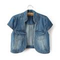[Laila Fashion]  Hàng nhập - Áo gile cardigan jean bò nữ AH1506