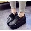 Giày oxford nữ đế cao