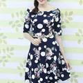 Đầm Xòe Hoa Bi Vintage