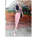 Quẫn legging lửng phối ren - Hongkong YW413