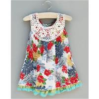 Áo đầm Zara cho bé gái mặc hè cực mát