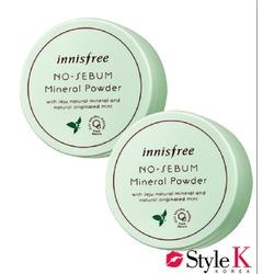 Phấn Phủ Kiềm Dầu [Innisfree] No Sebum Mineral Powder