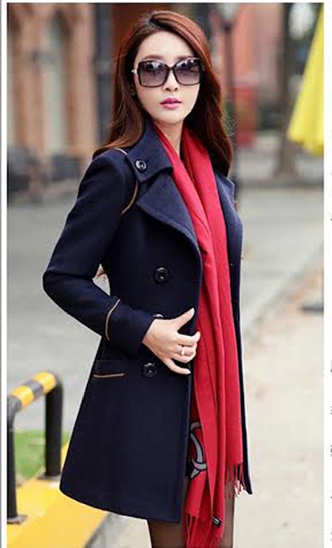 ao khoac nu da mang to 1m4G3 80f774 Mặc sức đổi mới phong cách cùng với áo khoác nữ Hàn Quốc