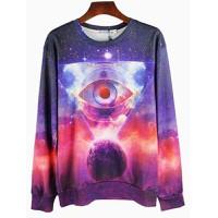 áo thun nam galaxy hình con mắt Mã: NT1093 - 2