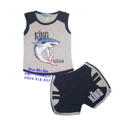Bộ cá mập vua biển cả - màu xám - 3835687 , 1371591 , 15_1371591 , 93000 , Bo-ca-map-vua-bien-ca-mau-xam-15_1371591 , sendo.vn , Bộ cá mập vua biển cả - màu xám