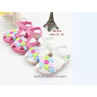 Dép sandal đính hoa cho bé gái 1- 4 tuổi SL8