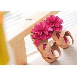Dép sandal hoa cho bé gái 1-10 tuổi SG7